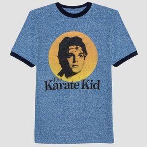 The Karate Kid Ringer Tee Men's Size Large